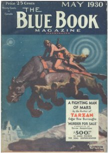Blue Book: May 1930 - A Fighting Man of Mars 2/6