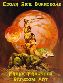 Mars Art Gallery by Frank Frazetta