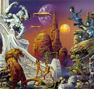 Mars Art by Joe Jusko