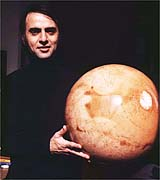 Carl Sagan. . . and Barsoom